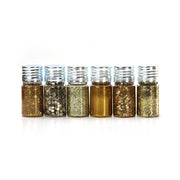 Bling Fiesta- Gold, 15gm Each, 6pc