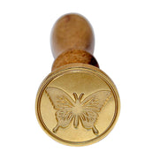 Sealing Wax Stamp -Butterfly, 30mm, 1pc
