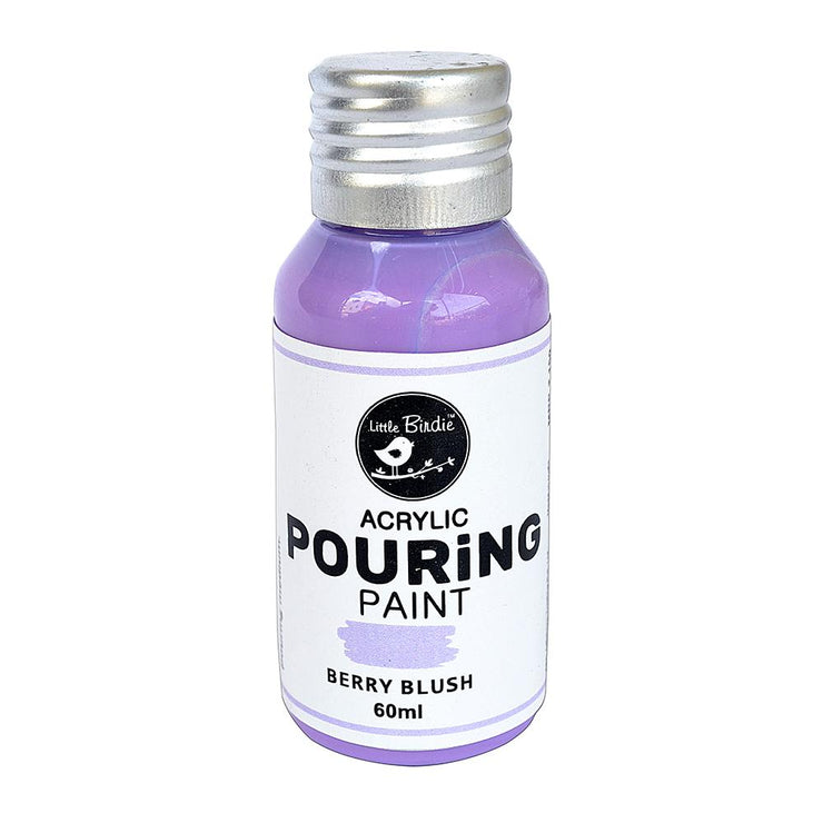 Acrylic Pouring Paint - Berry Blush, 60ml