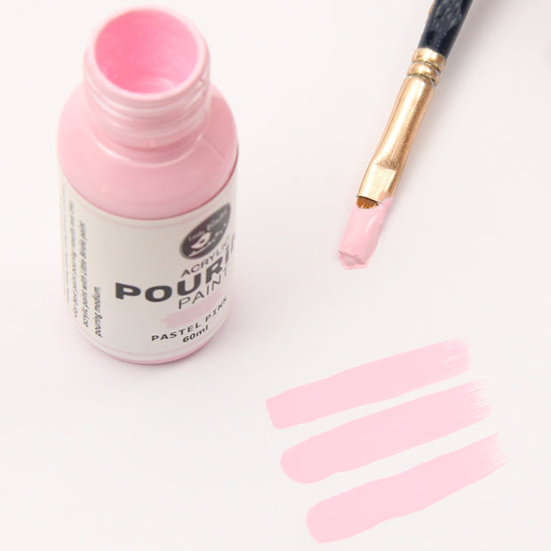Acrylic Pouring Paint - Pastel Pink, 60ml