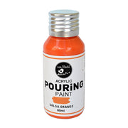 Acrylic Pouring Paint - Salsa Orange, 60ml