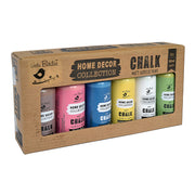 Home Decor Chalk Paint Set- Country Side, 60ml Each, 6pc