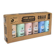 Home Decor Chalk Paint Set- Muted, 60ml Each, 6pc