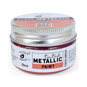 Tinted Metallic Paint- Fired Brick, 50ml