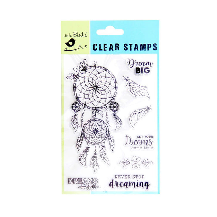 Clear Stamps - Dream Big, 8pc