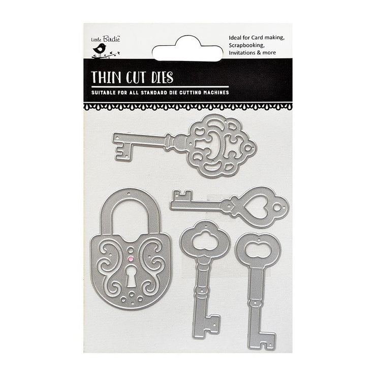 Thincut Dies - Lock & Key, 5pc