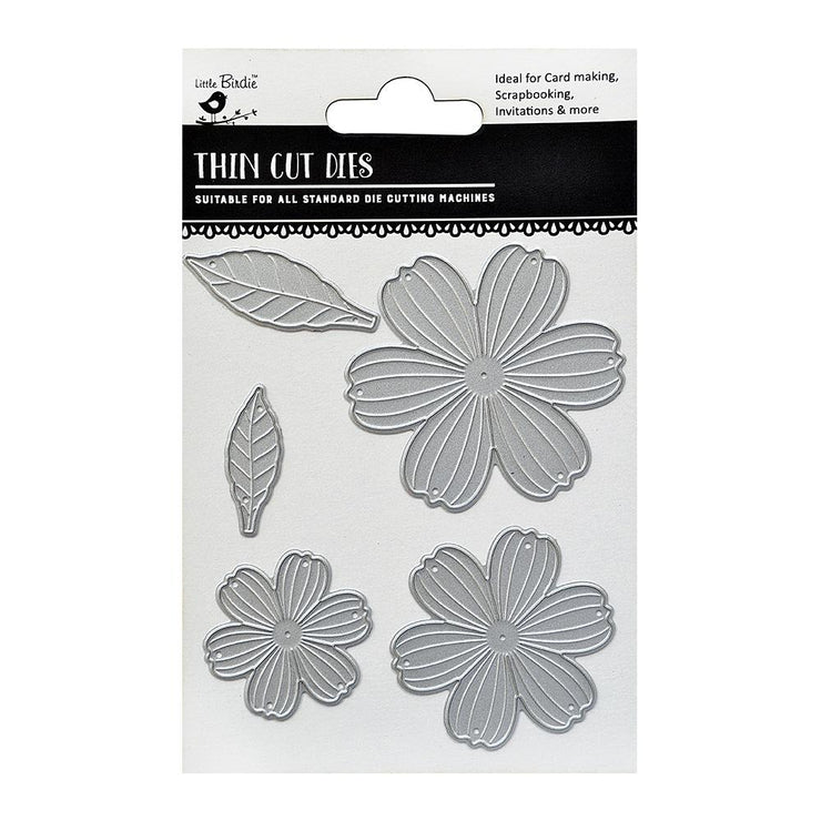 Thincut Dies - Floretta, 5pc