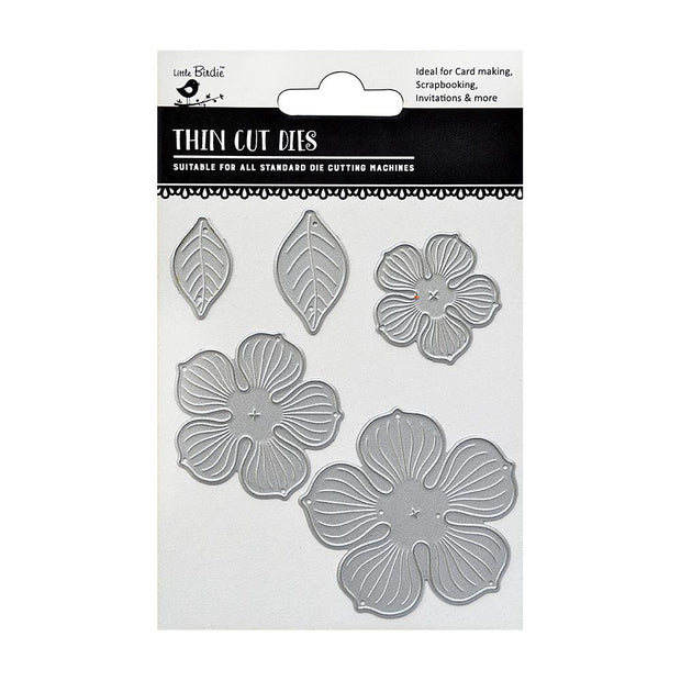 Thincut Dies - Gardenia, 5pc
