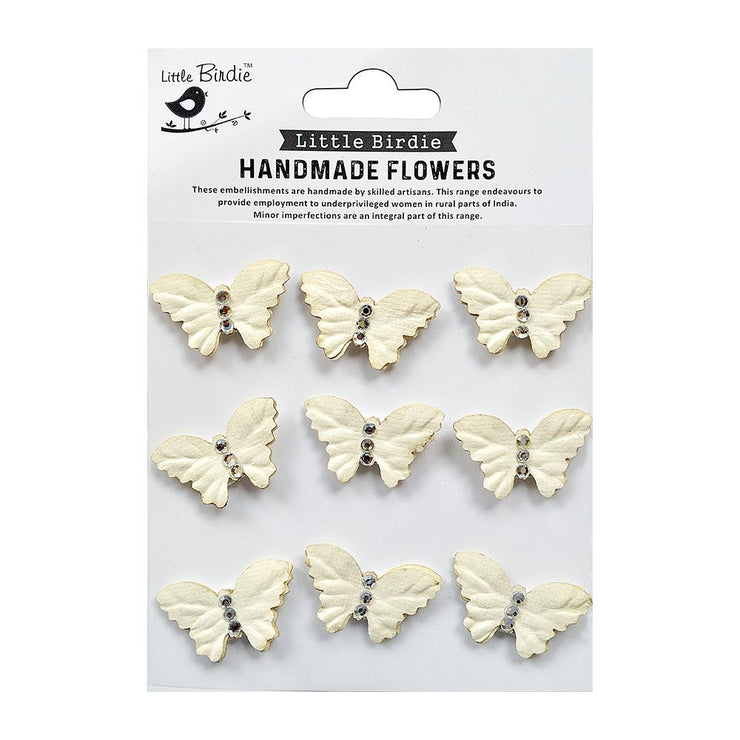 Jewel Butterfly Shabby Chic 9pc