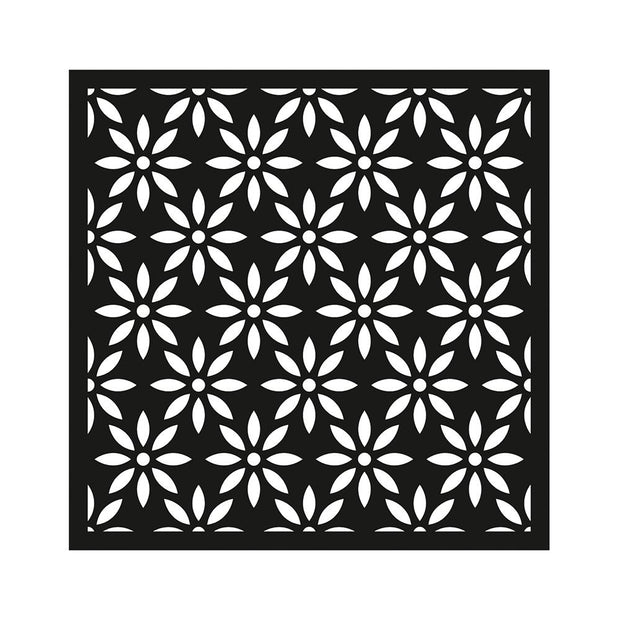 Stencil - Charming Bloom, 4 x 4in, 1pc