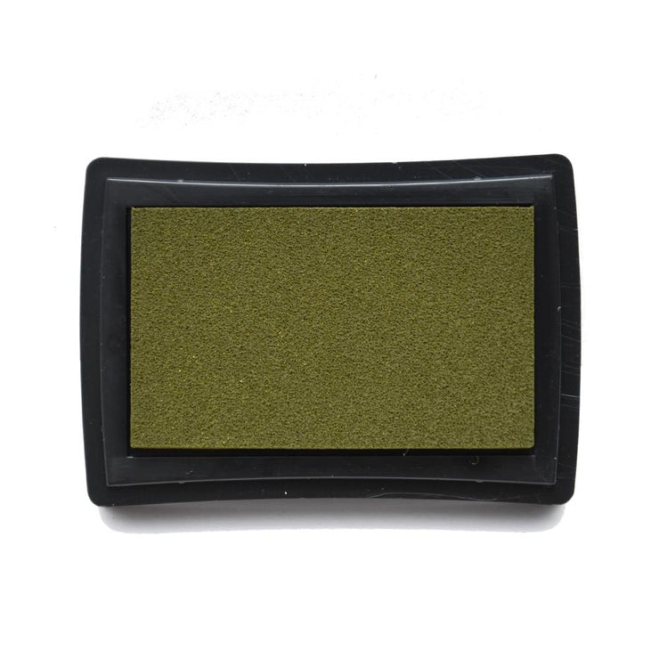 Pigment Ink Pad Green Olive, 1pc