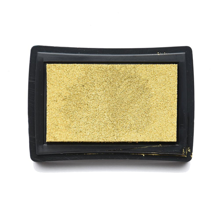 Metallic Ink Pad- Retro Gold, 1pc