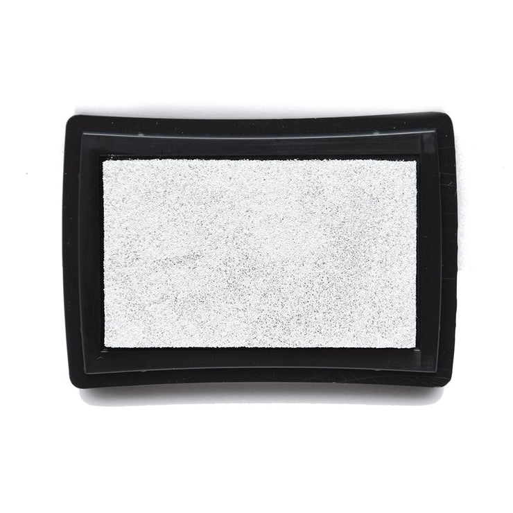 Metallic Ink Pad Silver Dust - 1pc