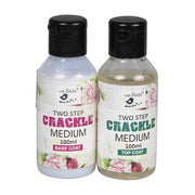 2 Step Crackle Medium-Top and Base Coat 200 ml