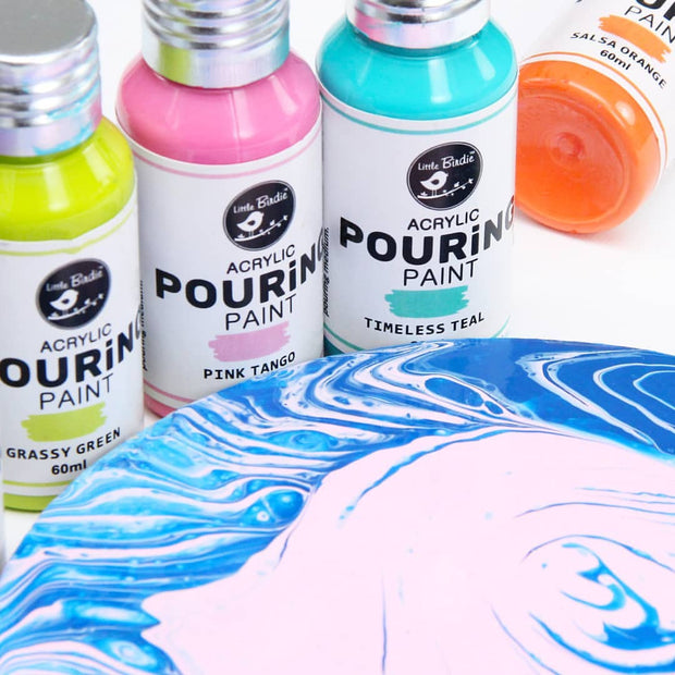 Acrylic  Pouring Paint- Timeless Teal, 60ml