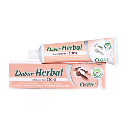 Dabur Herbal Toothpaste - Clove (100g) - Dookan