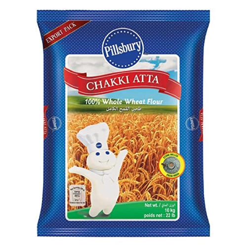 Pillsbury Chakki Atta / Whole Wheat Flour (10kg)