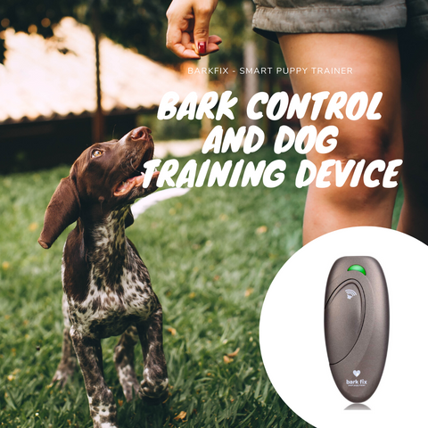 barkfix ultrasonic bark control & dog training device