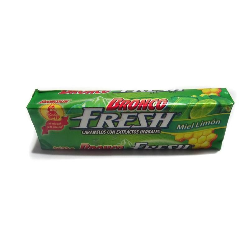BRONCO FRESH MIEL LIMON 33 GR