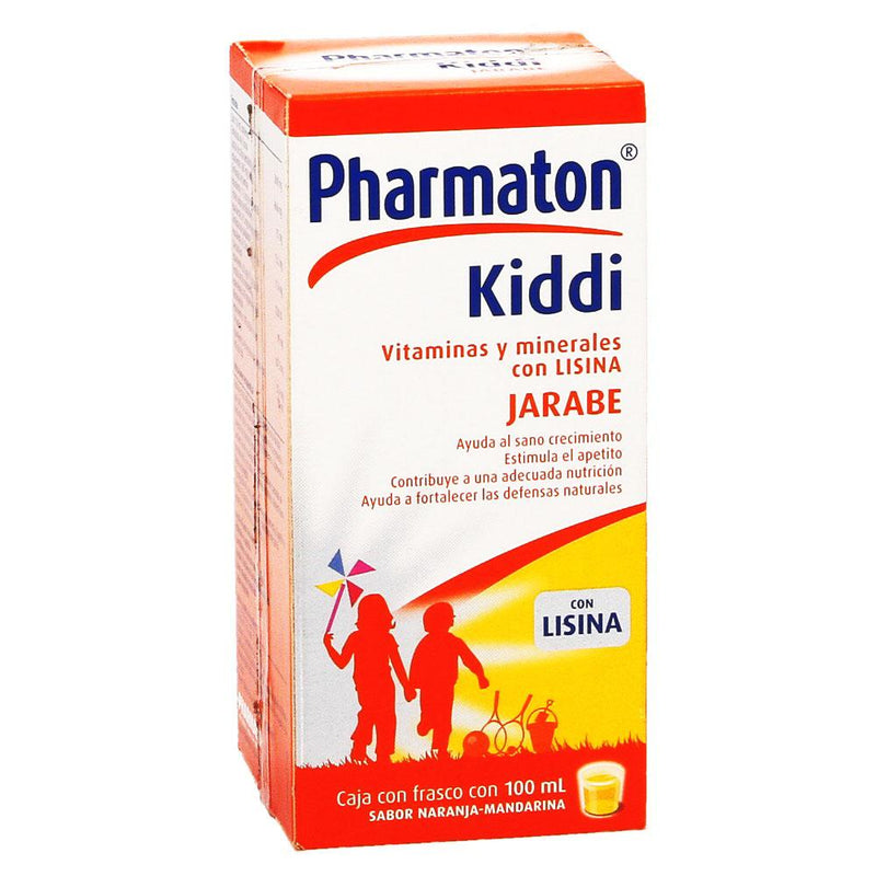 KIDDI PHARMATON JBE 100 ML