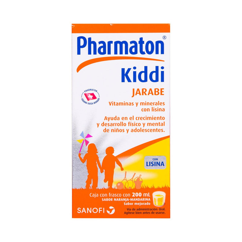 KIDDI PHARMATON JBE 200 ML