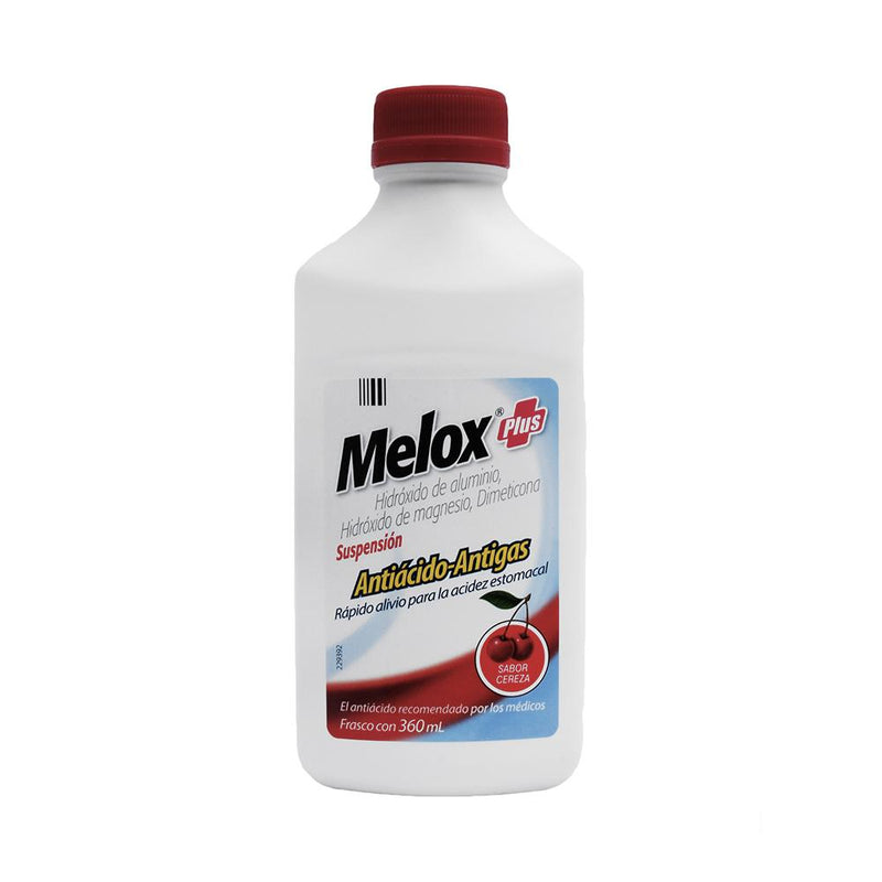 MELOX PLUS CEREZA SUSP 360 ML
