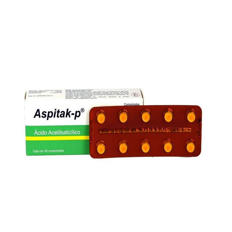 ASPITAK-P 100 MG CPR C/30 GI
