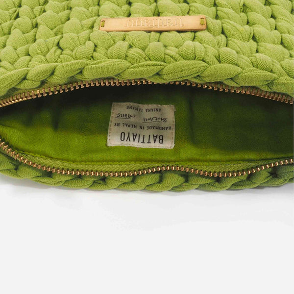 Green 'Clutch' Bag