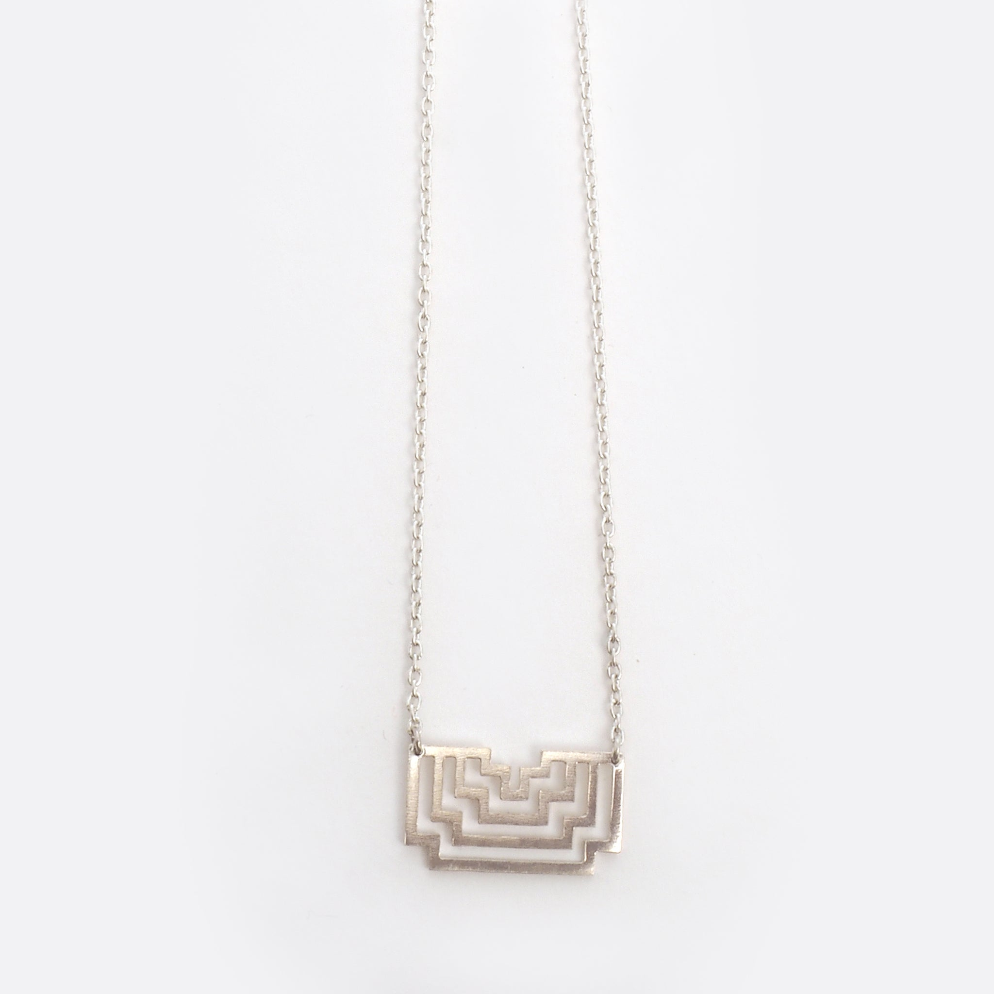 Homage To Peti – Small Silver Necklace