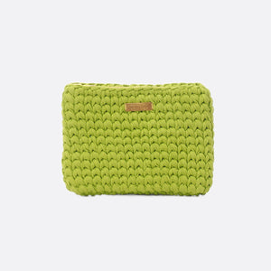 Green 'Clutch' Bag - Medium