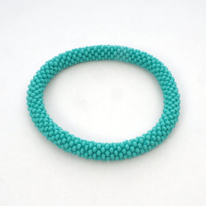 Beaded Bracelet - Turquoise- Light Blue