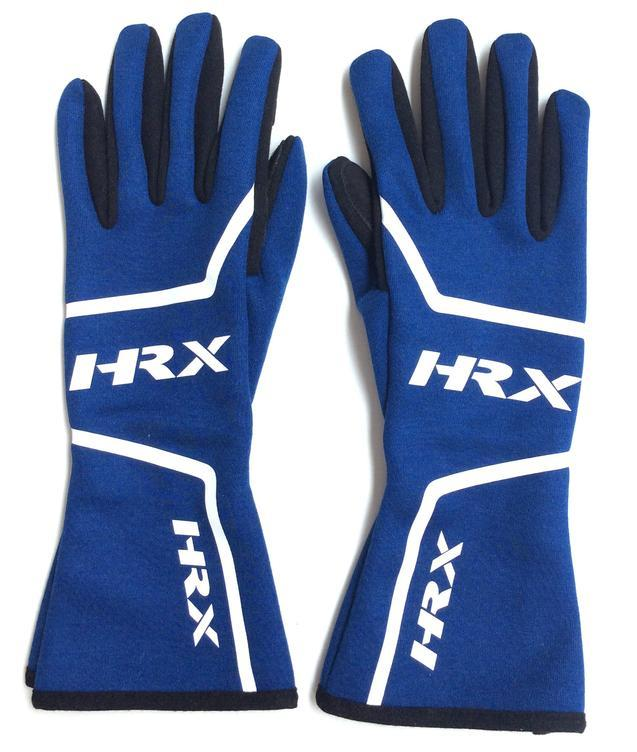 The Tutor - Racing gloves in Blue - HRX