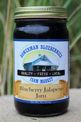 Blueberry Jalapeno Jam 9 oz