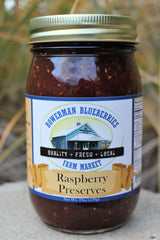 Raspberry Preserves 19 oz