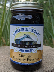 Blueberry Preserves 9 oz