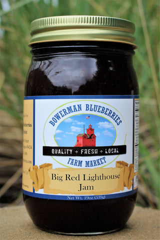Big Red Lighthouse Jam 19 oz