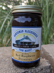 Seedless Raspberry Preserves 9 oz