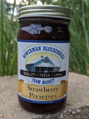 Strawberry Preserves 9 oz