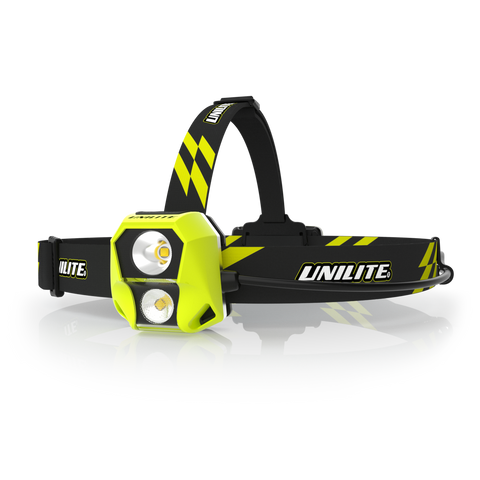 HL-6R DUAL POWER DUAL LED HEAD TORCH