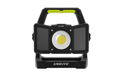 SP-4500 - RECHARGEABLE BLUETOOTH SPEAKER WORK LIGHT
