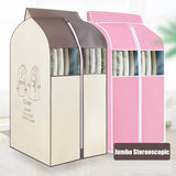 Jumbo Clothes Cover with zipper Stereoscopic