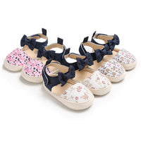 First Walkers Baby Print Flower Shoes