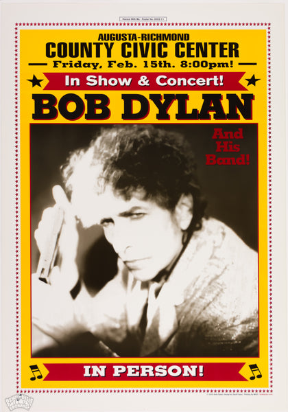 "Bob Dylan & his Band - 2002 - Geoff Gans - ""Honest With Me"" No. 0002-xx"