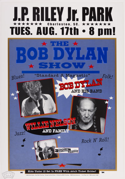 "Bob Dylan & Willie Nelson and Family - 2004 - Geoff Gans - ""Lets Play Two"""