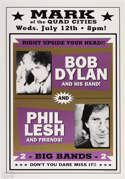"Bob Dylan & Phil Lesh and Friends - 2000 - Geoff Gans - ""Right Upside Your Head"""