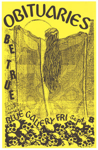 Obituaries Blue Gallery September 8th Poster