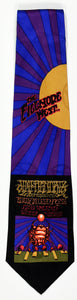 "BG-140 POSTER TIE : JIMI HENDRIX SCARAB : RICK GRIFFIN : MULBERRY NECKWEAR'S ""FILLMORE POSTER TIES"""