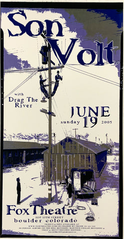 Son Volt 2005 Fox Theatre June 19th Handbill Poster