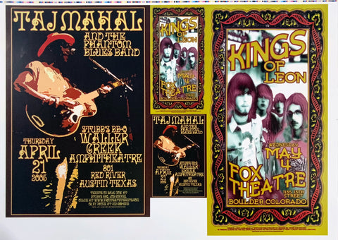 Taj Mahal Kings of Leon Uncut Poster Proof