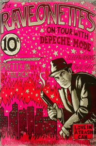 The Raveonettes On Tour With Depeche Mode Poster